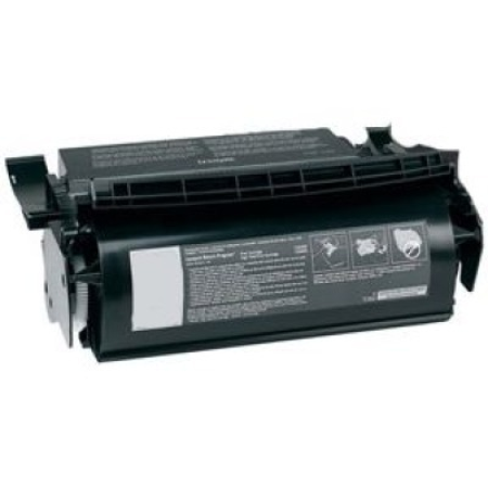 Compatible Lexmark 12A5845 High Capacity Black Toner Cartridge