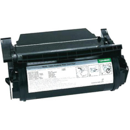 Compatible Lexmark 12A6860 Black Toner Cartridge
