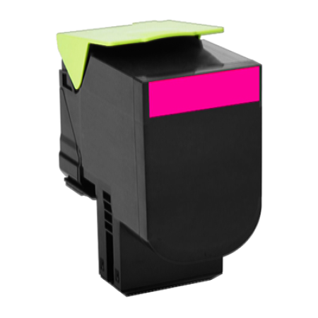 Compatible Lexmark 802HM High Capacity Magenta Toner Cartridge