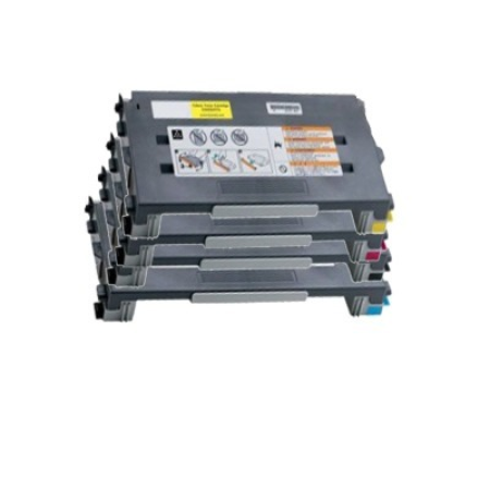 Compatible Lexmark C500H2 High Capacity Toner Cartridge Multipack - 4 Toners