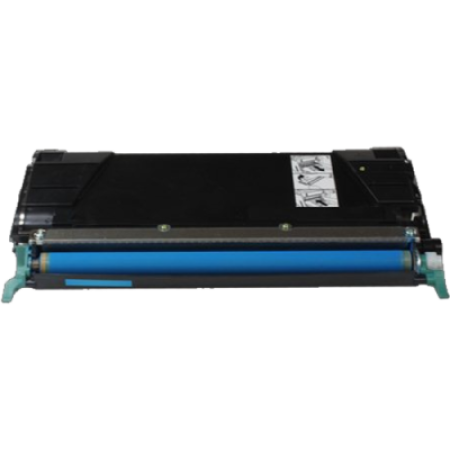 Compatible Lexmark C522CS Cyan Toner Cartridge