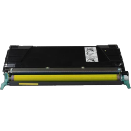 Compatible Lexmark C522YS Yellow Toner Cartridge