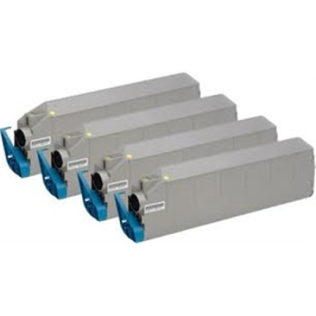 Compatible OKI 41515212 Toner Cartridge MultiPack - 4 Toners
