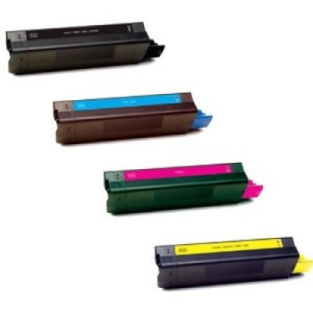 Compatible OKI 41963608 Toner Cartridge MultiPack - 4 Toners
