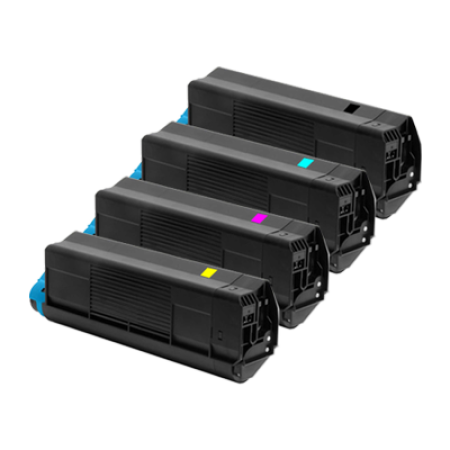 Compatible OKI 4212745 Toner Cartridge Multipack