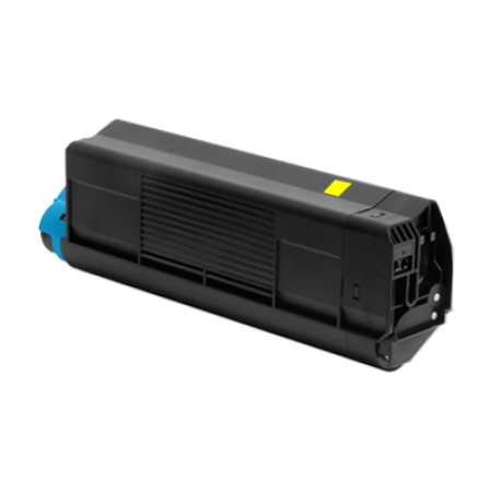 Compatible OKI 42127454 Toner Cartridge Yellow
