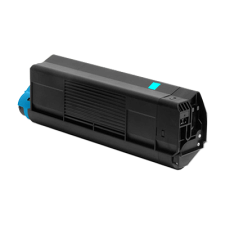 Compatible OKI 42127456 Toner Cartridge Cyan