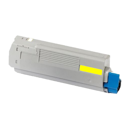 Compatible OKI 43865721 Yellow Toner Cartridge