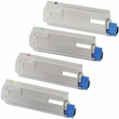 Compatible OKI 44059212 Toner Cartridge MultiPack - 4 Toners
