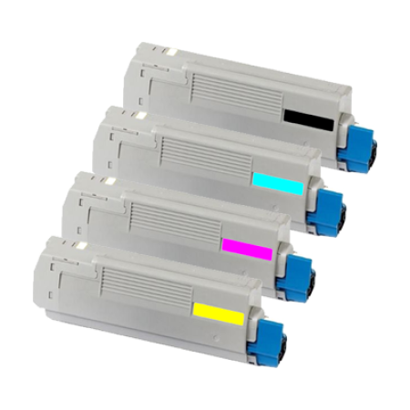 Compatible OKI 4431860 Toner Cartridge MultiPack - 4 Toners