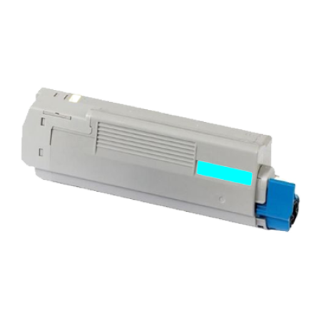Compatible OKI 44318607 Cyan Toner Cartridge