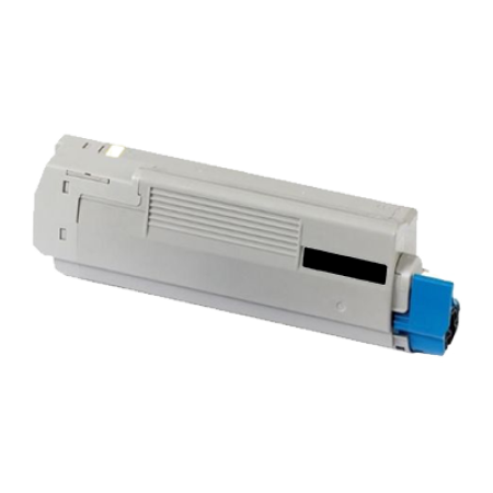 Compatible OKI 44318608 Black Toner Cartridge