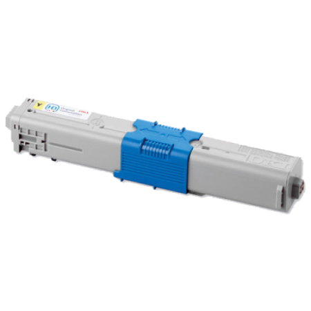 Compatible OKI 44469722 Toner Cartridge Yellow High Capacity