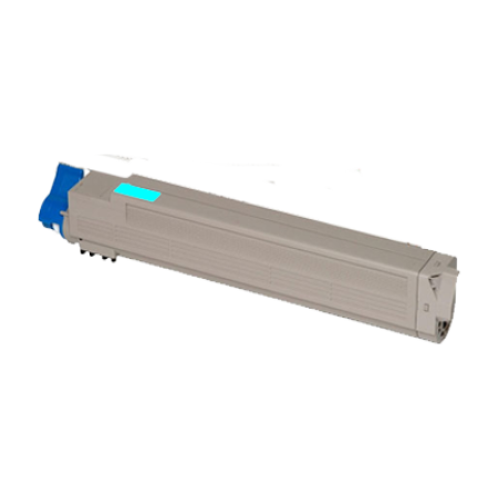 Compatible OKI Cyan Toner Cartridge 46508711