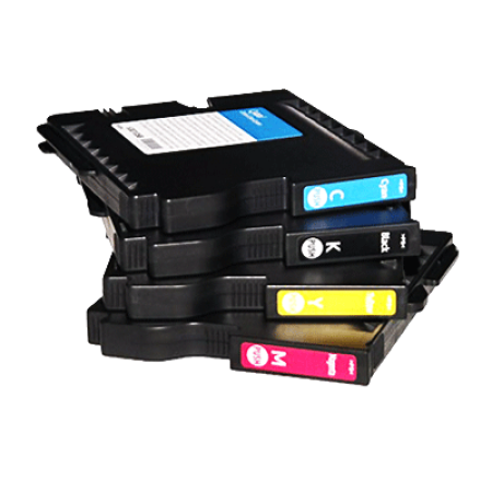 Compatible Ricoh 405532/3/4/5 Multipack Gel Ink Cartridge BK/C/M/Y