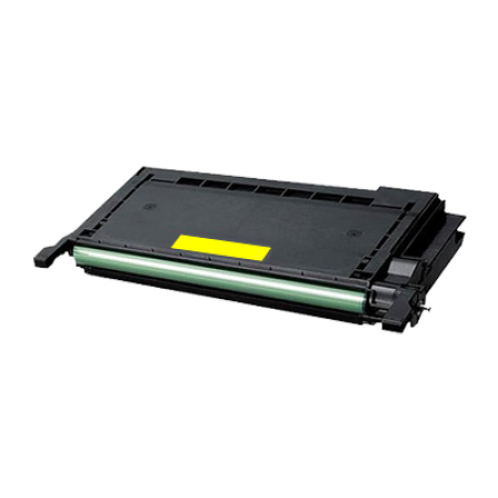 Compatible Samsung CLP-Y660B High Capacity Yellow Toner Cartridge