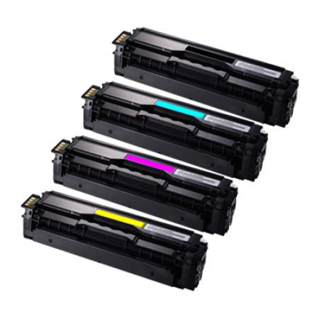 Compatible Samsung CLT-504S Toner Cartridge Pack - 4 Toners