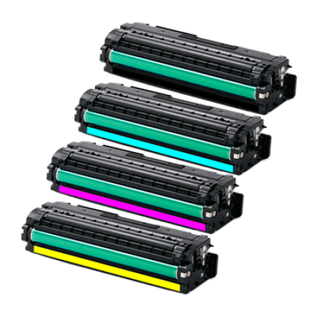 Compatible Samsung CLT-506 Toner Cartridge Pack - 4 Toners