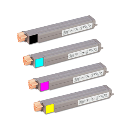 Compatible Xerox 106R01077-80 High Capacity Toner Complete 4 Pack
