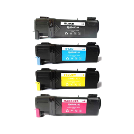Compatible Xerox 106R01594-97 Toner Complete 4 Pack