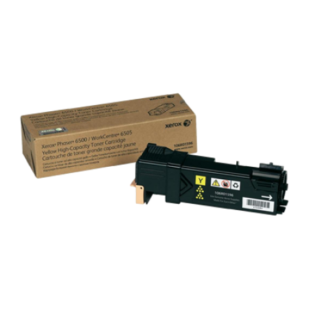 Compatible Xerox 106R01596 Toner Cartridge Yellow