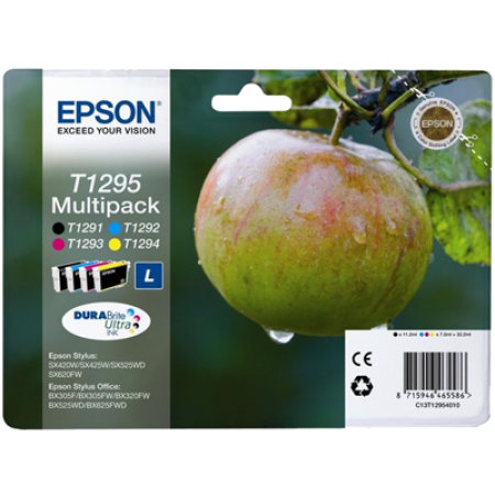 Epson T1295 (T1291 - T1294) Original Ink Cartridge Multipack BK/C/M/Y