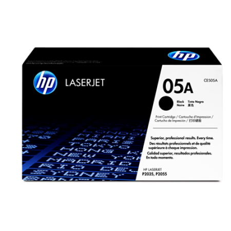 HP 05A CE505A Original Black Toner Cartridge