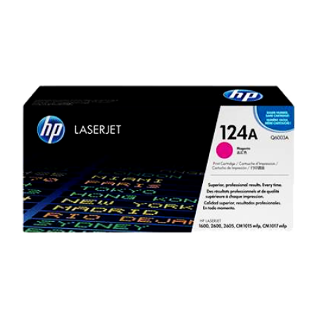 HP 124A Q6003A Magenta Toner Cartridge