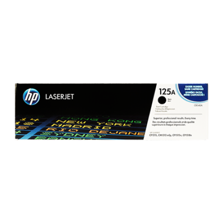 HP 125A CB540A Black Toner Cartridge