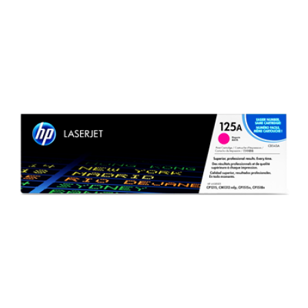 HP 125A CB543A Magenta Toner Cartridge