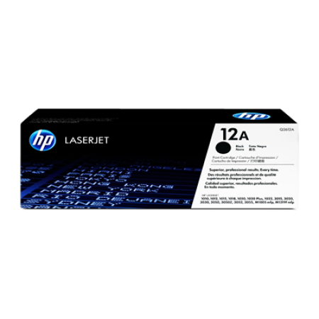HP 12A Q2612A Toner Cartridge Black Original