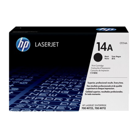 HP 14A CF214A Black Toner Cartridge