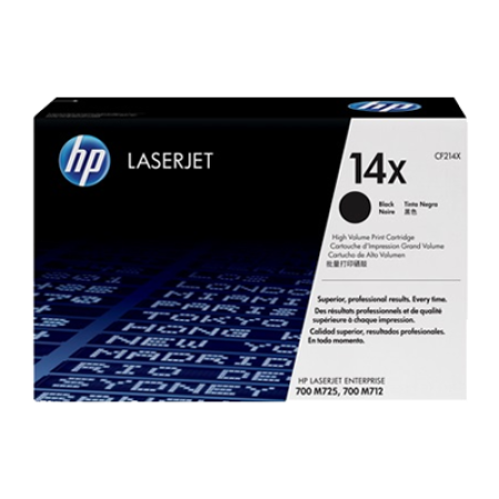 HP 14X CF214X Black High Capacity Toner Cartridge