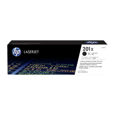HP 201X CF400X Toner Cartridge Black Original