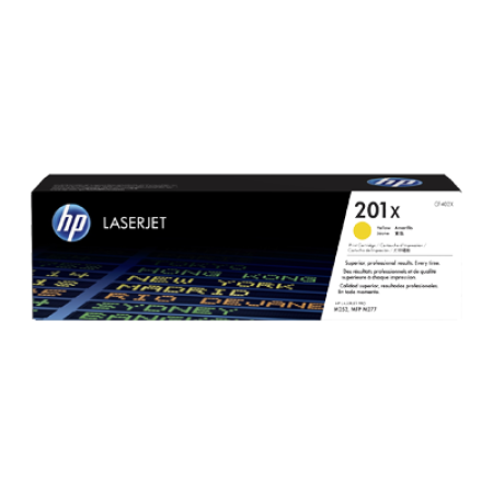 HP 201X CF402X Toner Cartridge Yellow Original