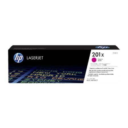 HP 201X CF403X Toner Cartridge Magenta Original