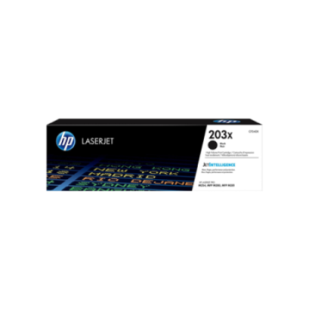 HP 203X CF540X Toner Cartridge Black High Capacity Original