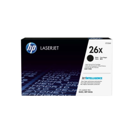 HP 26X CF226X Toner Cartridge Black Original High Capacity