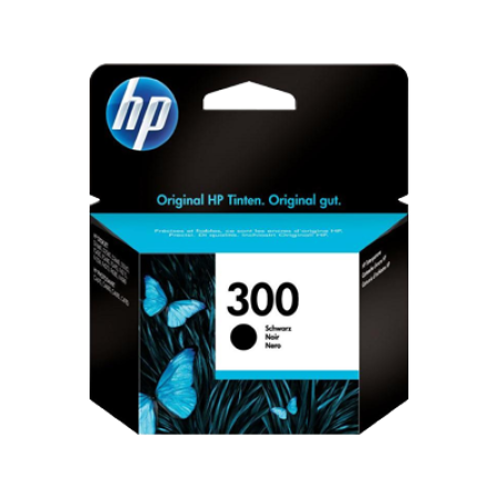 HP 300 Black Ink Cartridge Original 4ml