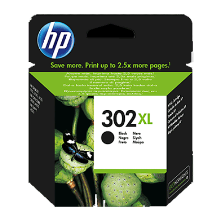 HP 302XL Ink Cartridge Black Original