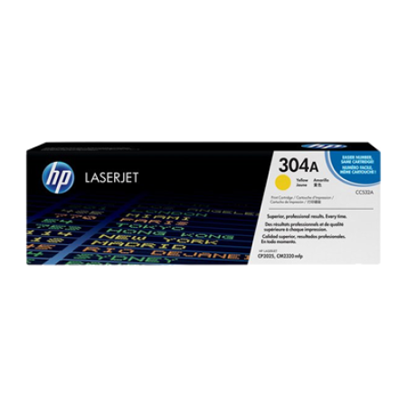 HP 304A CC532A Toner Cartridge Original Yellow