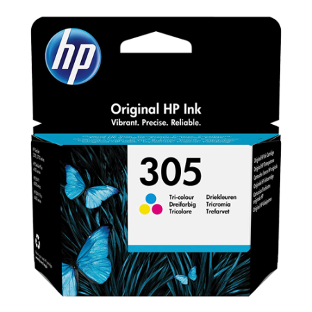 HP 305 Ink Cartridge Colour Original