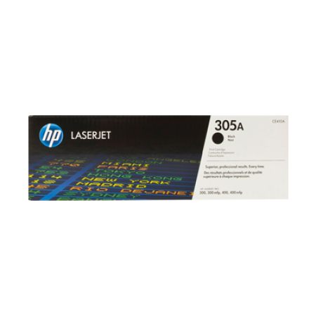HP 305A CE410A Black Toner Cartridge