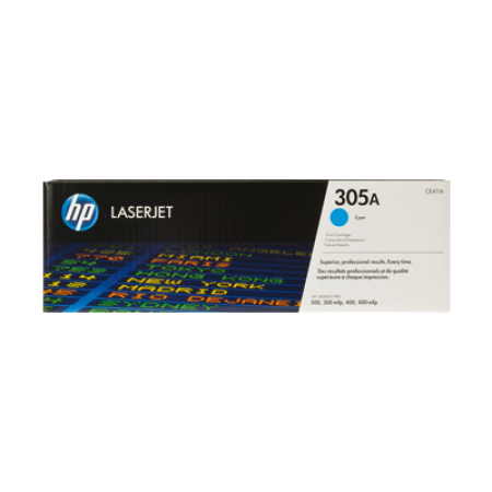HP 305A CE411A Cyan Toner Cartridge