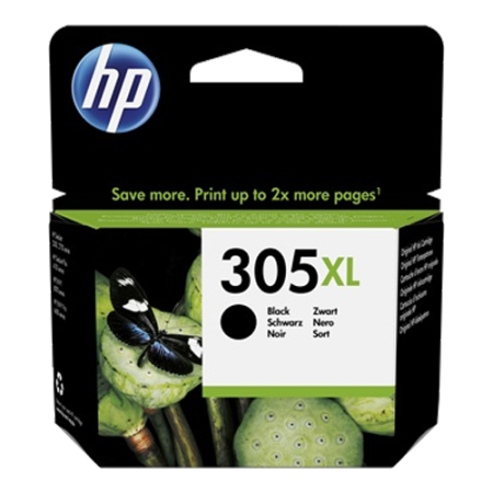 HP 305XL Ink Cartridge Black Original