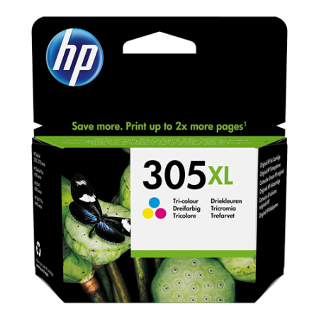 HP 305XL Ink Cartridge Colour Original
