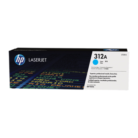 HP 312A CF381A Cyan Toner Cartridge