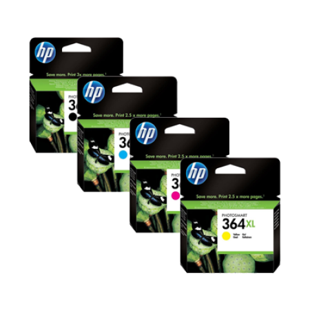 HP 364XL Multipack Ink Cartridge BK/C/M/Y High Capacity Original