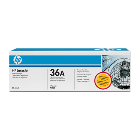 HP 36A CB436A Black Toner Cartridge
