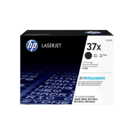 HP 37X High Capacity Black Toner Cartridge - CF237X